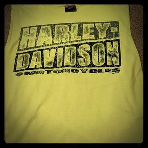 Harley Davidson men cut off